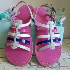 Kickers 32EUR - 1 Girl Size Leather Sandal…
